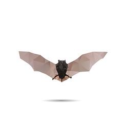 Bat abstract vector