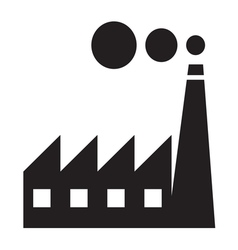 Factory Icon1 resize vector image vector image