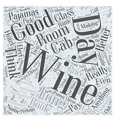 Seattle Vineyards are making a Name for Themselves vector image vector image