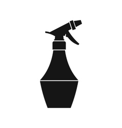 Spray bottle for flower icon simple style vector