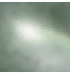 Abstract blurry green light pattern background vector