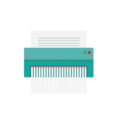 paper shredder icon vector image