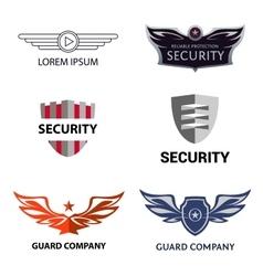 Template logo for security organization vector