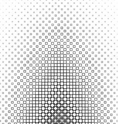 Abstract monochrome square pattern design vector