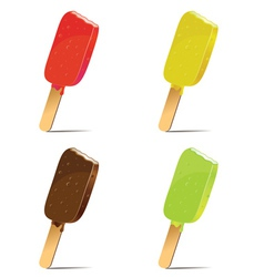 Tasty ice cream vector