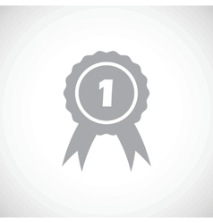 First prize award icon vector