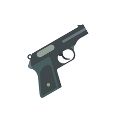 Gun flat icon vector