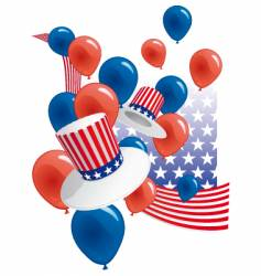 usa party vector image vector image