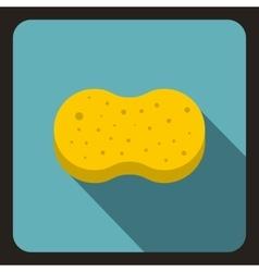 Sponge foam icon in flat style vector image