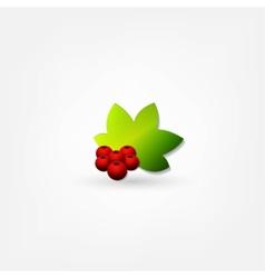 Christmas garlands vector image