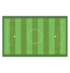 Horizontal football field vector