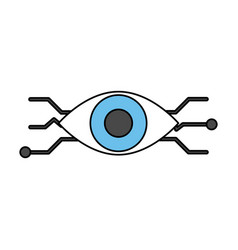 Artificial intelligence related icon image vector