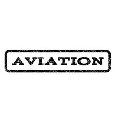 Aviation watermark stamp vector