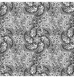 Damask seamless pattern for design vector image vector image