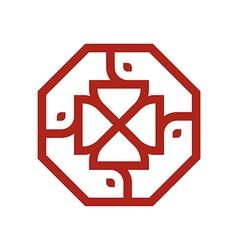 Logo symbol letter set vector