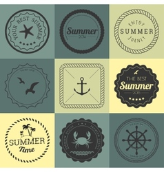Collection of design elements vector