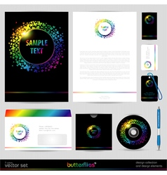 Template background design elements vector