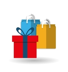 Shopping and gift design vector