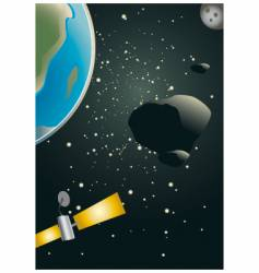 asteroid vector image vector image
