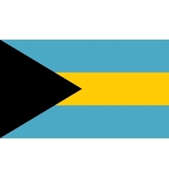 Bahamas flag image vector