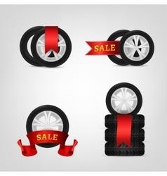 Vecor tire collection vector