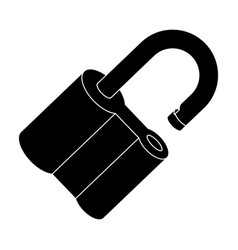 padlock hacked the challenge for the pathfinder vector image