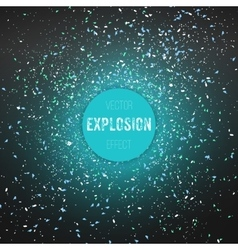 Outer space exlosion vector