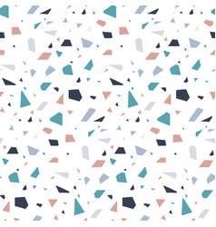 Abstract granite stone terrazzo floor texture vector