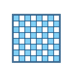 chess game field vector image