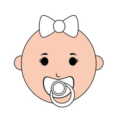 Cute baby design vector