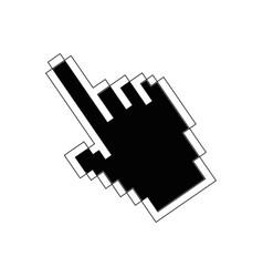 hand cursor icon vector image vector image