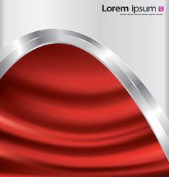 Metal-satin background vector image