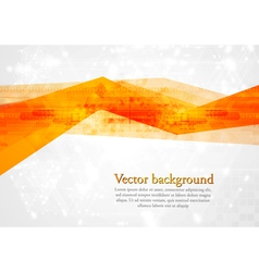 Bright tech design vector