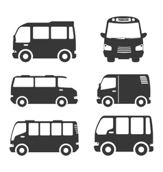 Bus transportation design vector