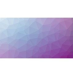 Abstract violet gradient lowploly of many vector
