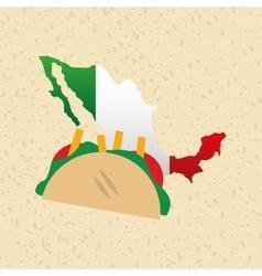 Mexican culture icon design vector