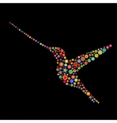 Bird shape vector