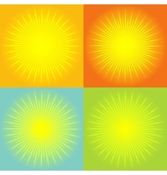Sunburst abstract background vector