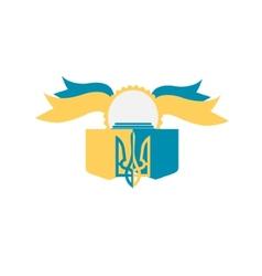 Coat of Arms of Ukraine vector image vector image