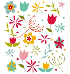 Happy Spring card vector image vector image
