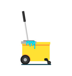 Home cleaning equipment icon vector