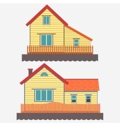 House facade vector image vector image