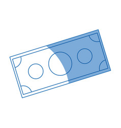 money bill dollar cash currency vector image