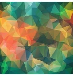 Retro multicolor composition with ceramic shapes vector