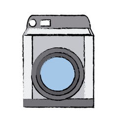Washing machine appliance technology clean vector