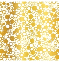Golden On White Abstract Grunge Bubbles vector image