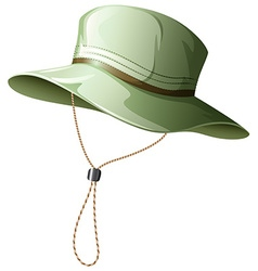 Fishing hat vector