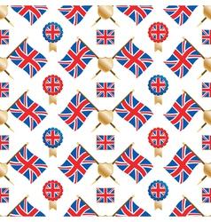 uk seamless pattern vector image