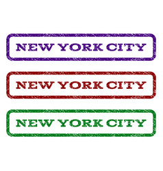 New york city watermark stamp vector