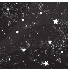 Night sky full of stars vector image